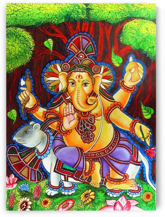 GANAPATHY MURAL by ASP ARTS