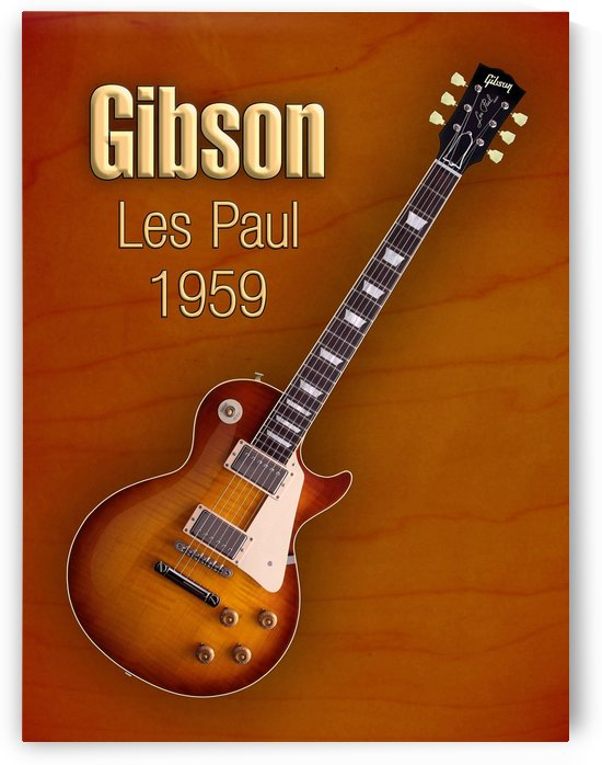 Vintage Gibson Les paul 1959 by shavit mason