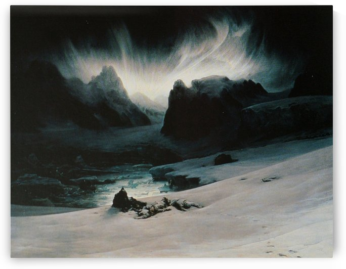Magdalena Bay by Francois-Auguste Biard
