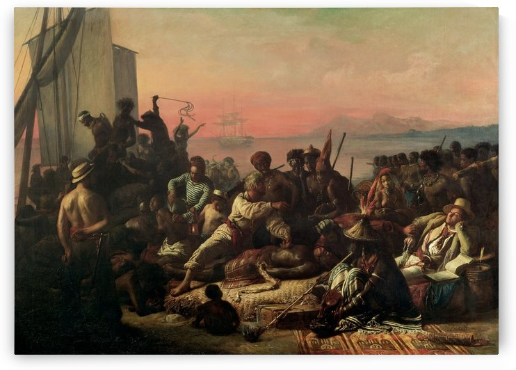 The Slave Trade by Francois-Auguste Biard