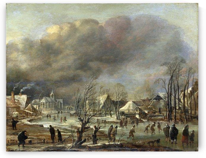 Rijksmuseum by Aert van der Neer