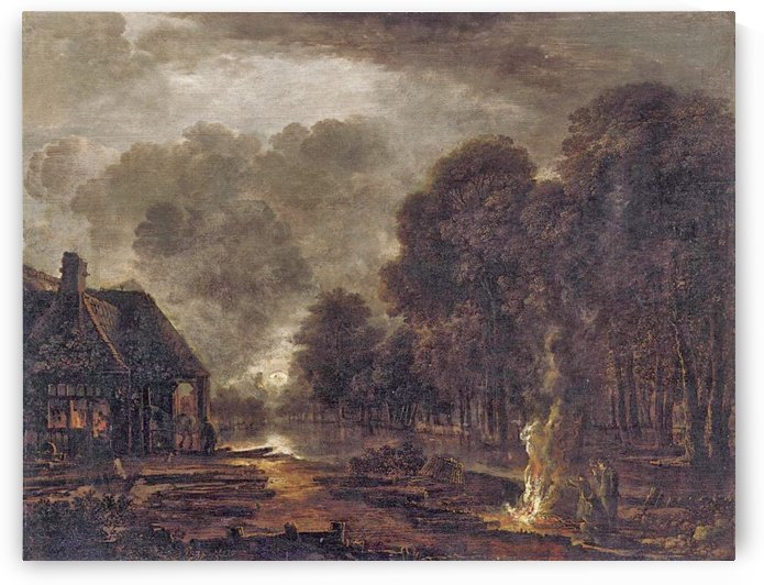 The Farrier by Aert van der Neer