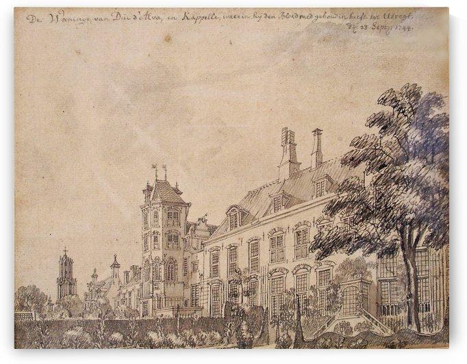View of Utrehkt by Jan de Beijer