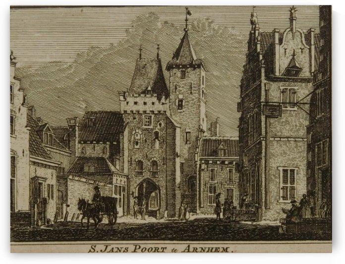 S. Jans Poort te Arnhem by Jan de Beijer