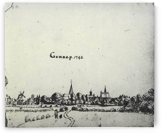 Gennep by Jan de Beijer