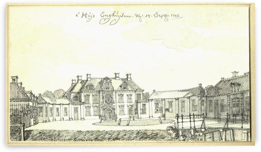 Huis Enghuizen by Jan de Beijer