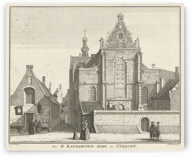 Katharynen Kerk by Jan de Beijer