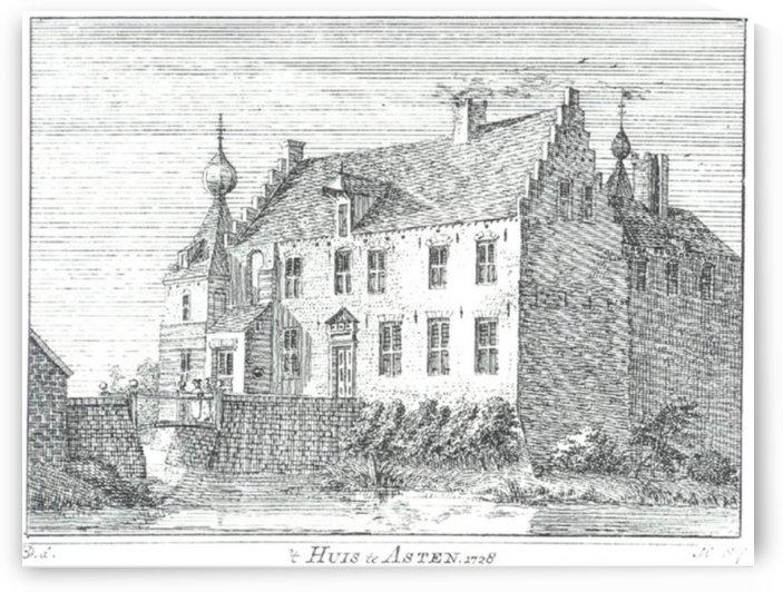 Huis te Asten by Jan de Beijer