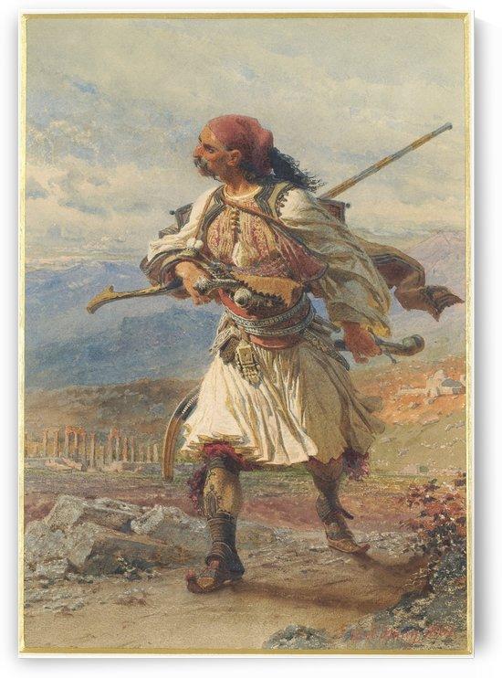 Greek Warrior by Carl Haag