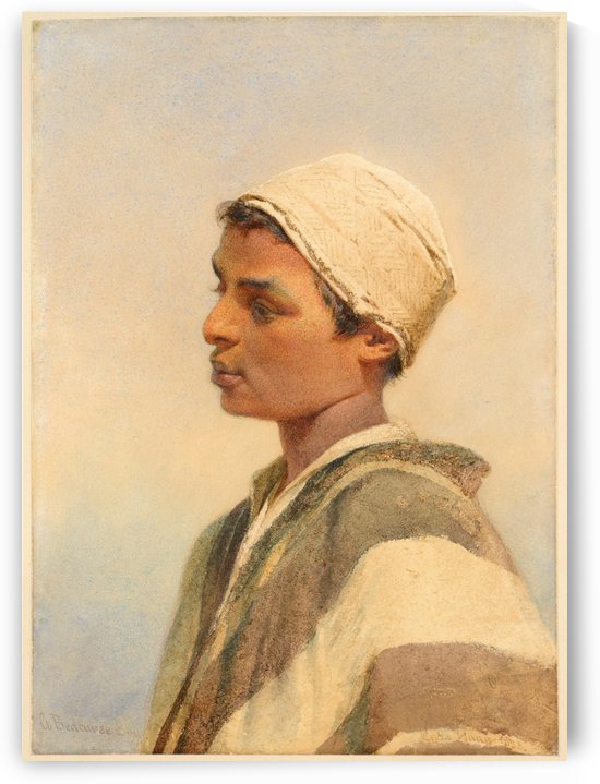 A Bedouin Boy by Carl Haag