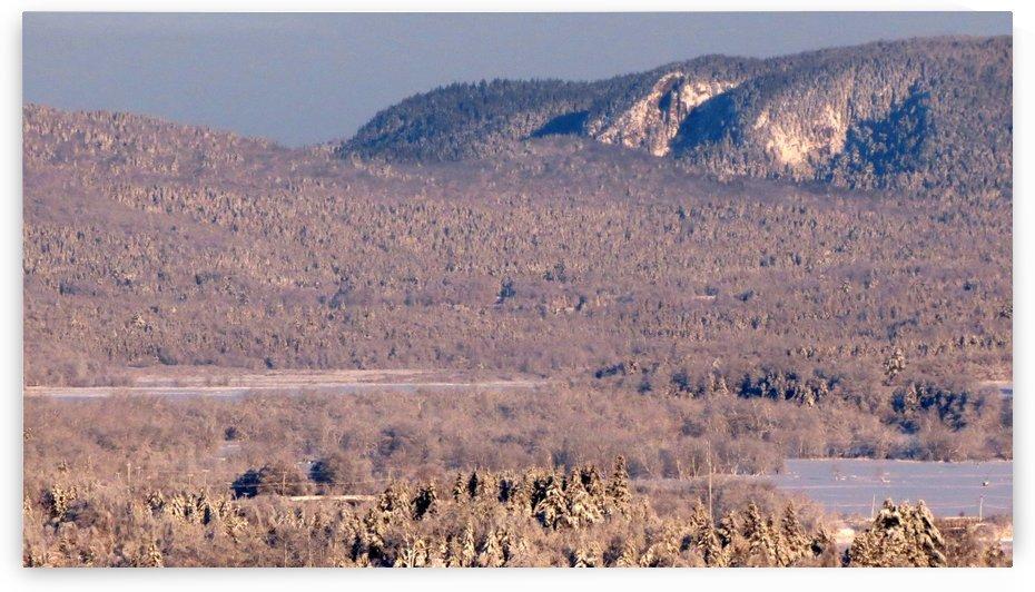 Cochrane Lane Cliffs after ice storm, Grand Bay-Westfield, NB, Dec. 12, 2013 by Doug McQuinn