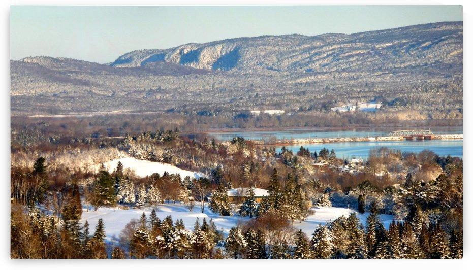 Grand Bay-Westfield, NB in winter, Dec. 7, 2009 by Doug McQuinn