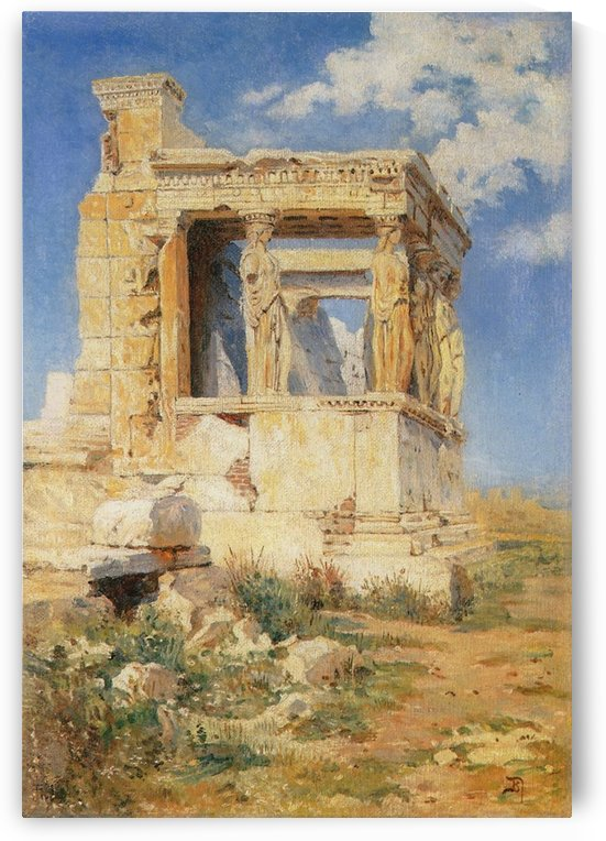 Erechteion by Vasily Dmitrievich Polenov