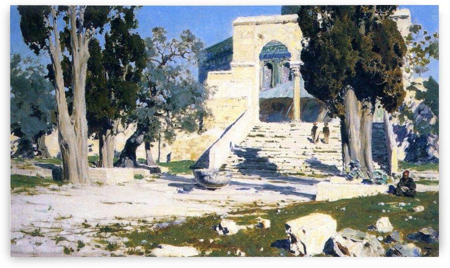 The Temple of Omar by Vasily Dmitrievich Polenov