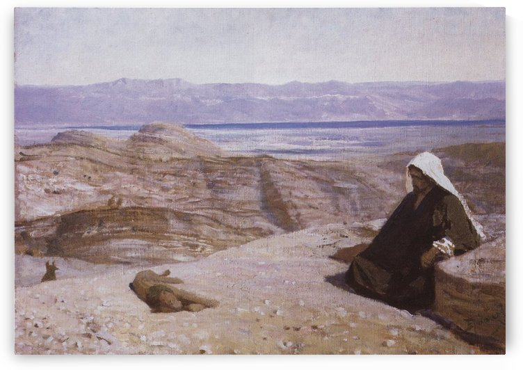 It was in the wilderness by Vasily Dmitrievich Polenov