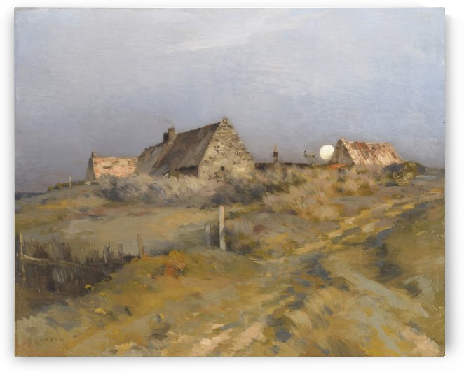 Moonrise by Jean-Charles Cazin