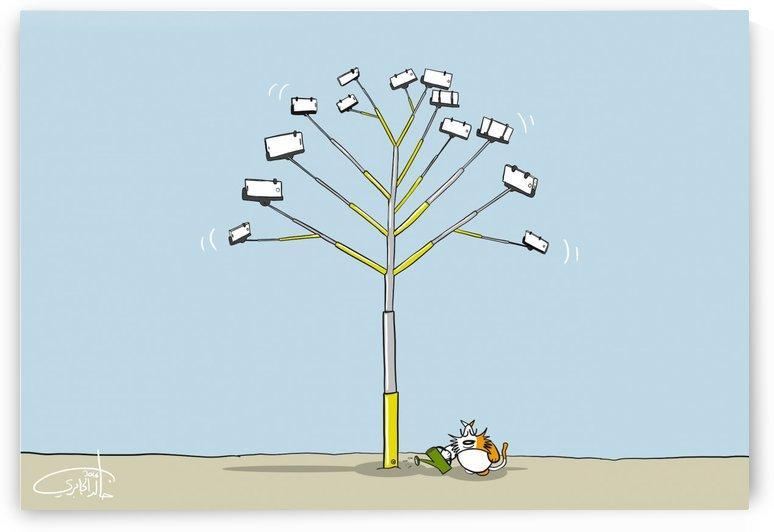 Selfie Tree by Khaled Al Jaberi