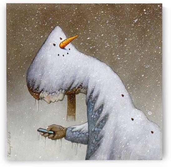 snowman by Pawel Kuczynski