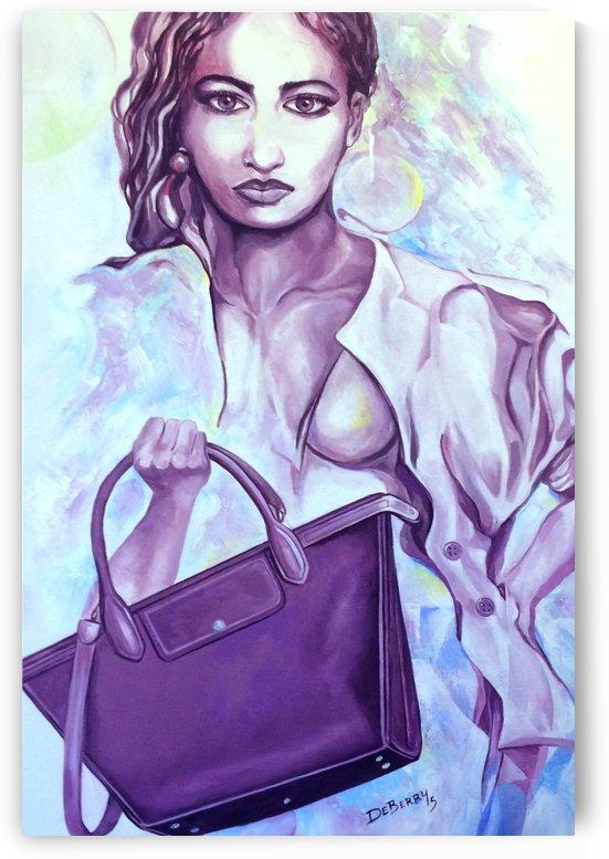 bag_lady_print by Lloyd DeBerry