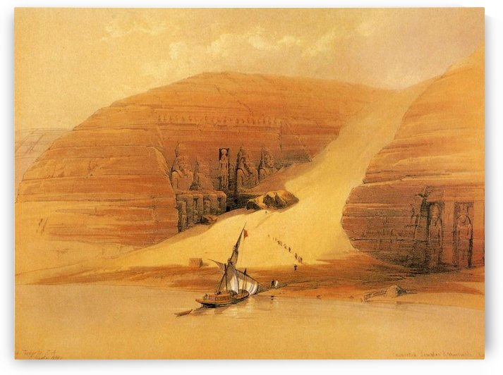 Entering the Great Valley by David Roberts
