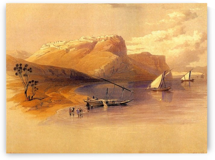 Fortress of Ibrim, 1838 by David Roberts