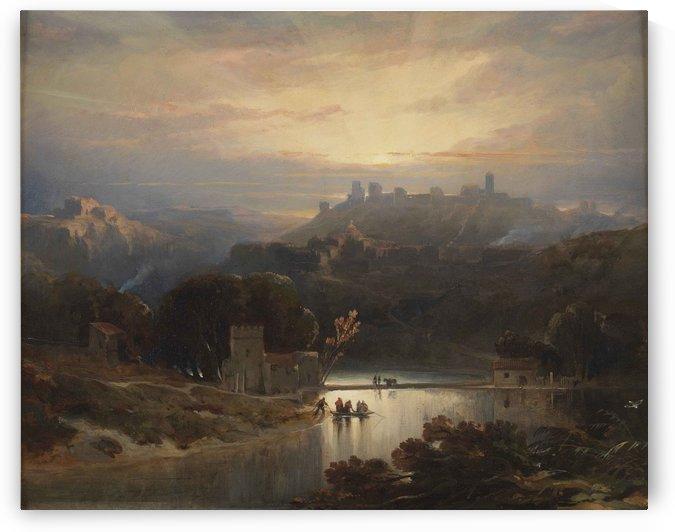El Castillo de Alcala de Guadaira by David Roberts