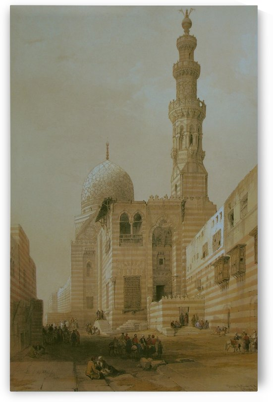 Mosque Of The Sultan Kaitbey by David Roberts