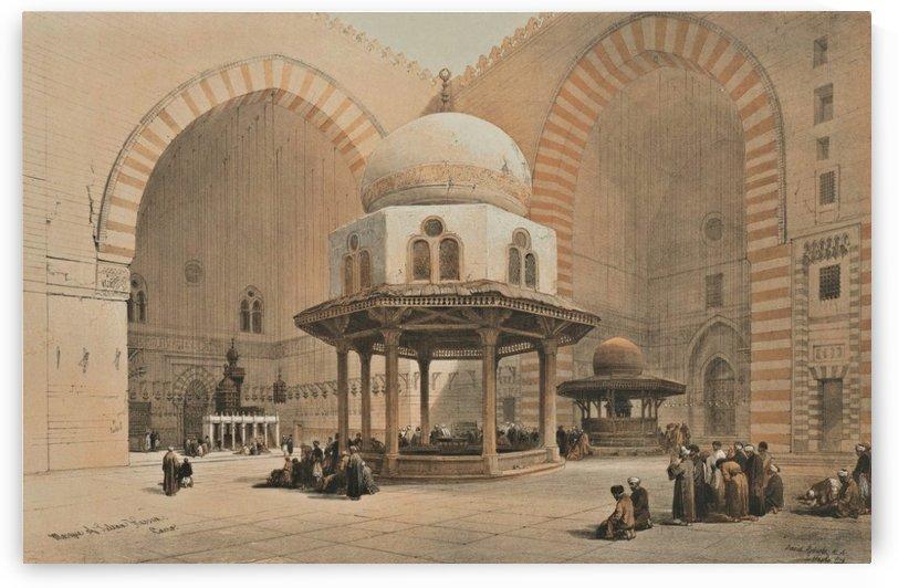 Mosque of the Sultan Hassan, Cairo by David Roberts