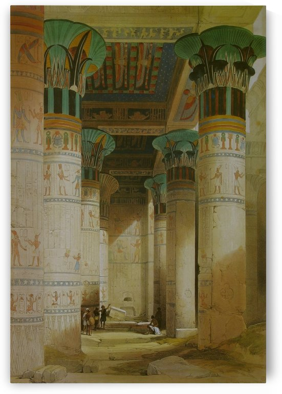 Temple of Isis by David Roberts