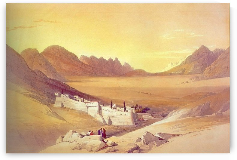 Convent of St Catherine by David Roberts