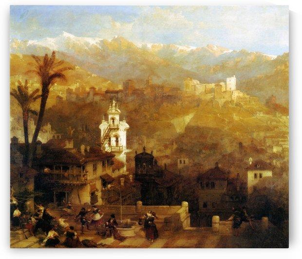 Alhambra and Albaicin by David Roberts