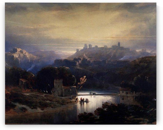 The castle of Alcala de Guadaira by David Roberts