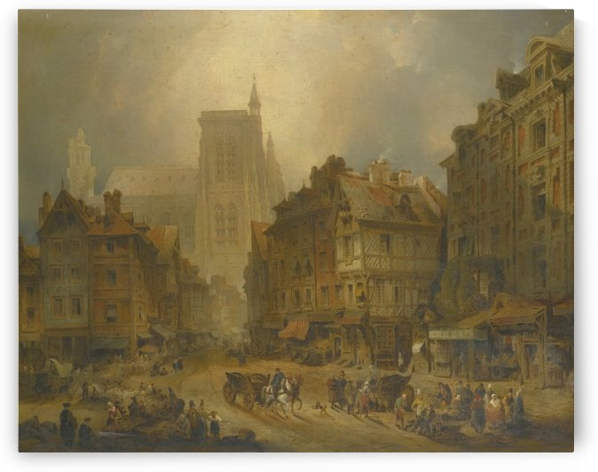 Abbeville farmers market by David Roberts