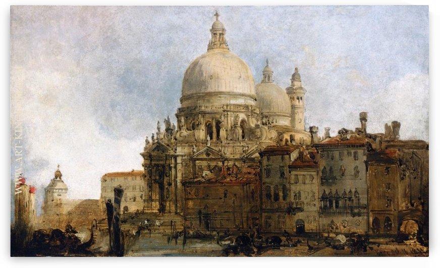 View of the Church of Santa Maria della Salute by David Roberts