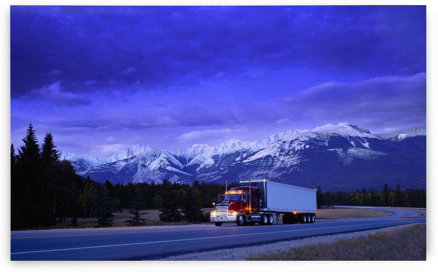 Semi-Trailer Truck by PacificStock
