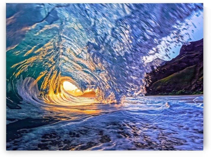 Kauai sunrise by Cullen Kamisugi