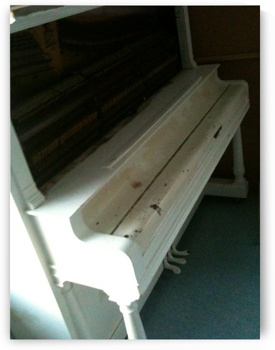 Distressed Piano by Ashley Deslage