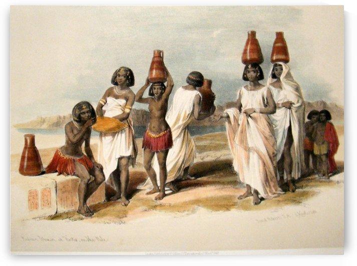 Nubian women at Korti by David Roberts