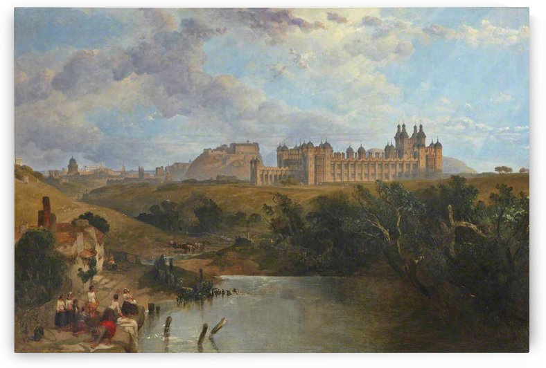 Donaldson's College, Edinburgh by David Roberts