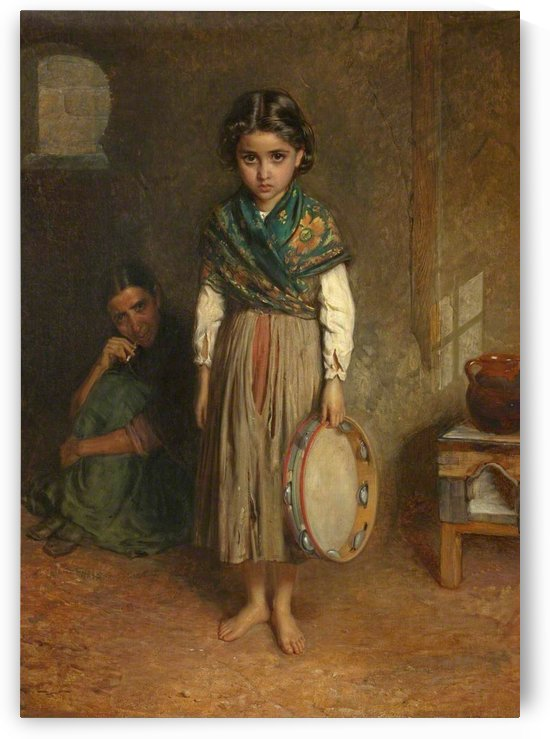 A Little Spanish Gipsy by John Bagnold Burgess