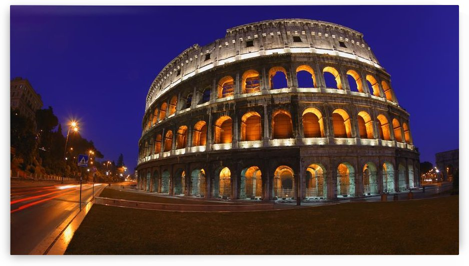 The Colosseum In Rome, Italy by PacificStock