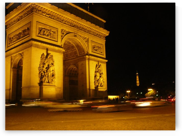 Paris Arc dTriompe  by Andy Jamieson