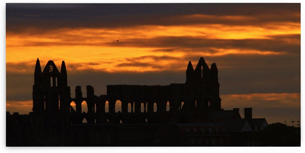 Whitby Abbey sunrise 4.25 am  by Andy Jamieson