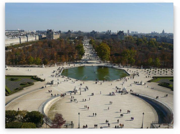 Place de la Concorde from the big wheel  by Andy Jamieson