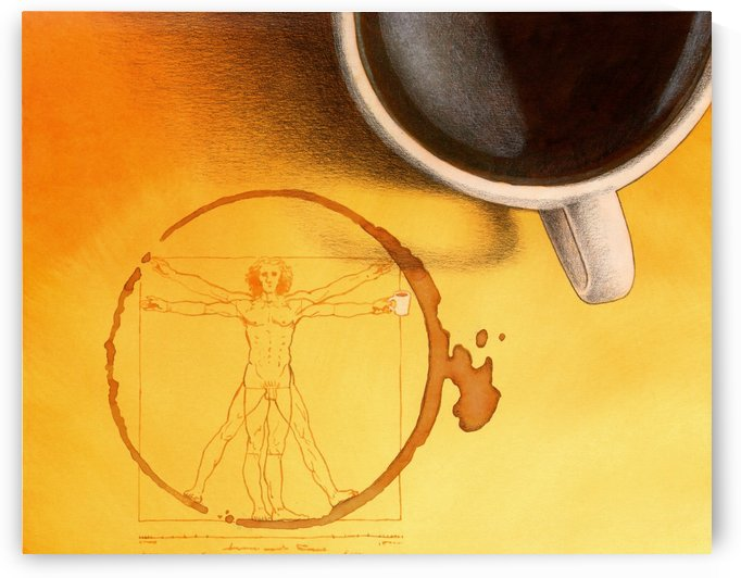 coffee man by Pawel Kuczynski