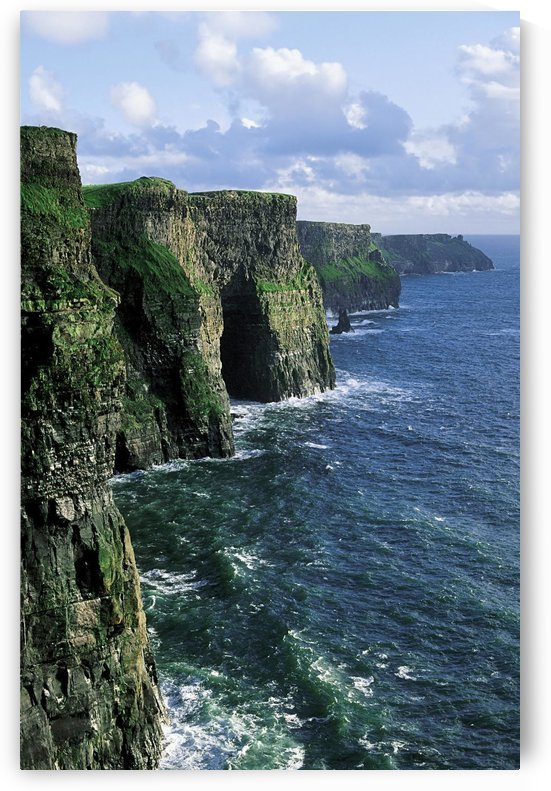 Cliffs Of Moher, Co Clare, Ireland; Cliffs On The Atlantic Ocean by PacificStock