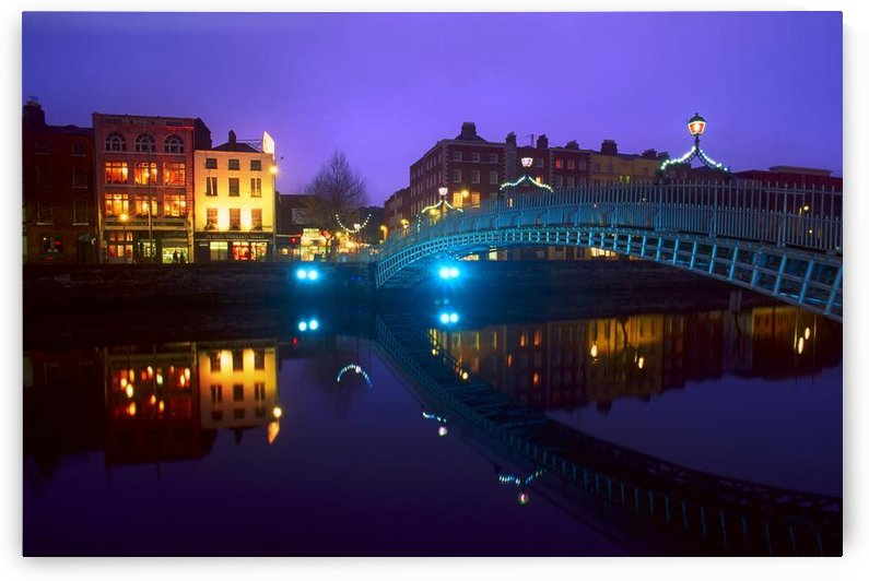 Ha'penny Bridge, Dublin, Ireland by PacificStock