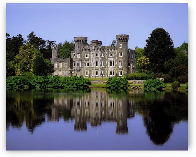 Johnstown Castle, Co Wexford, Ireland, 19Th Century Gothic Revival by PacificStock