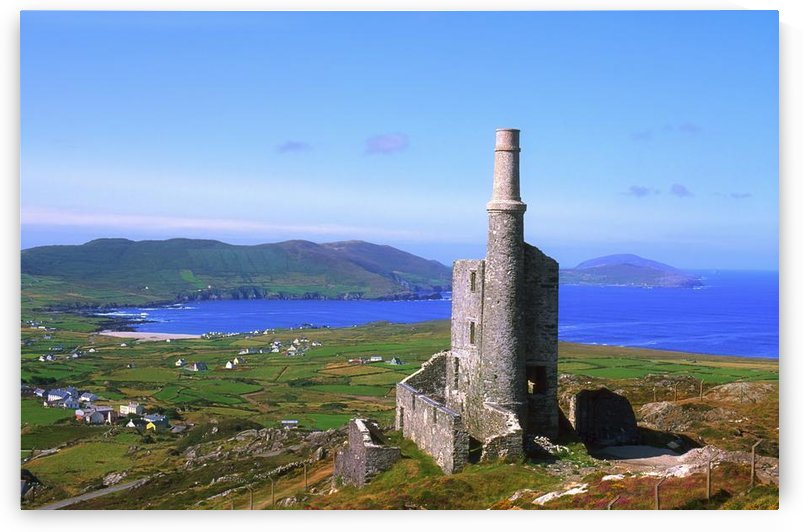 Allihies, Co Cork, Ireland; Old Mine Building by PacificStock