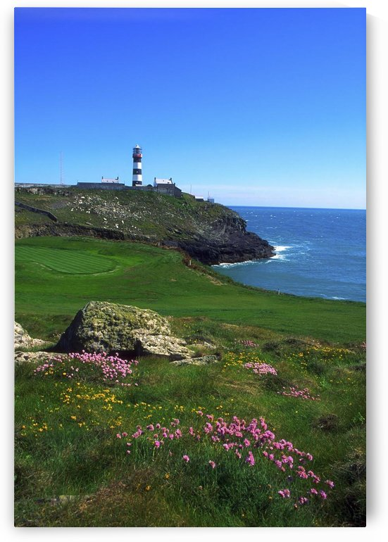 Old Head Of Kinsale Lighthouse, Kinsale, Co Cork, Ireland by PacificStock